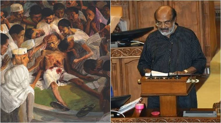 The dying Gandhi: Kerala budget 2020 cover is special once again