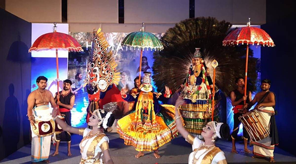 Promoting Kerala's tourism in Chandigarh