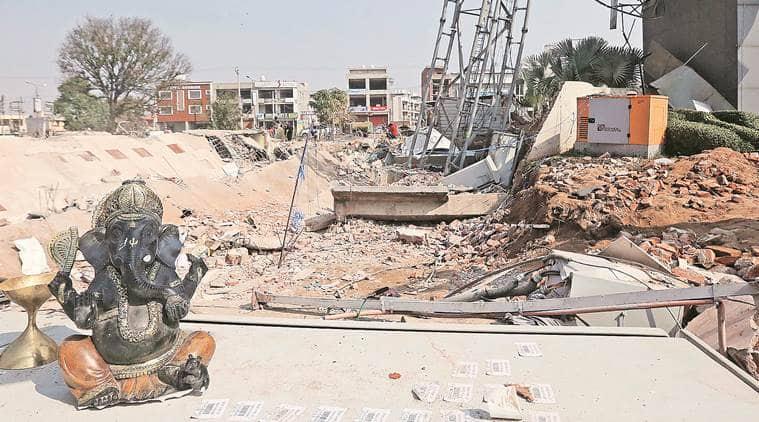 kharar building collapse, kharar building collapse death toll, mohali building collapse, mohali building collapse death toll, mohali news