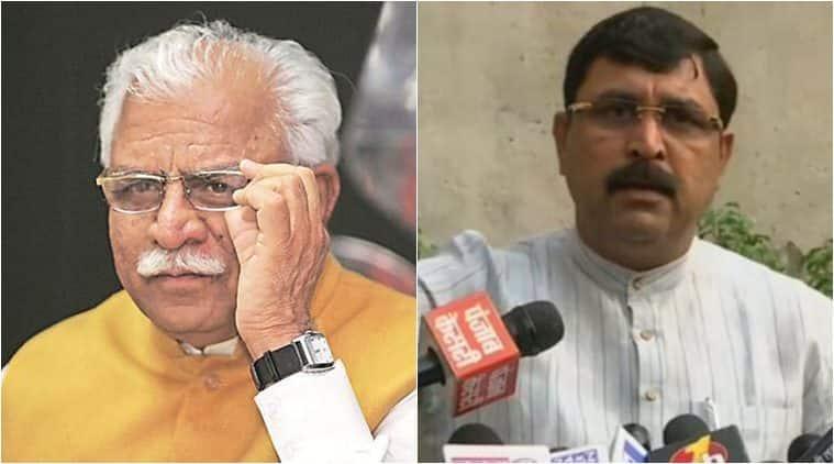 """Haryana: Meham MLA Balraj Kundu calls CM Khattar """"bhrashtachariyon ka mukhiya"""", withdraws support"""