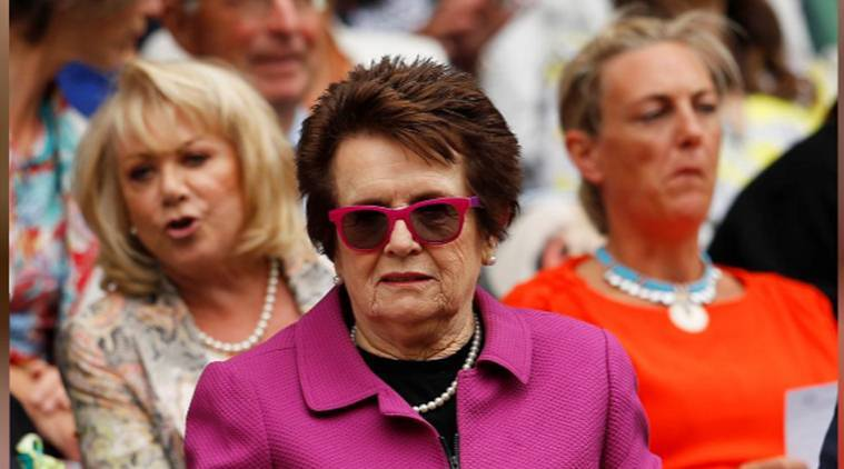 Billie Jean King proud women's tennis leads fight for equality