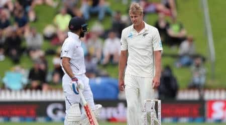india vs new zealand, india vs new zealand 1st test, kyle jamieson, kyle jamieson cricketer, new zealand cricket, cricket news