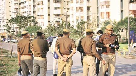 lucknow murder, Gomti Nagar murder, lucknow Gomti Nagar murder, Gomti Nagar murder accused, Gomti Nagar murder accused bsp leader, Gomti Nagar Extension murder, lucknow city news