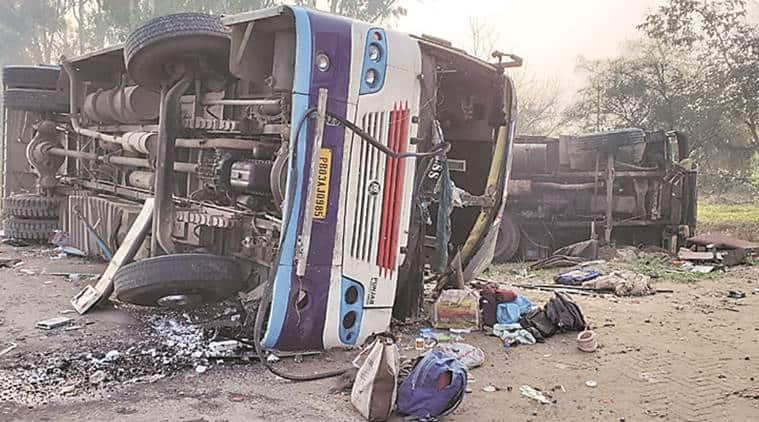 Ludhiana-Moga road accident, Ludhiana-Moga road accident people killed, Ludhiana-Moga road people dead, ludhiana news