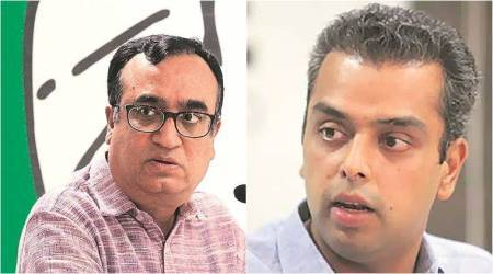 Congress implosion continues, now Ajay Maken and Milind Deora spar