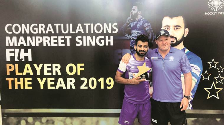 Hockey captain Manpreet Singh is first Indian to win FIH Male Player of the Year award