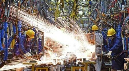 india manufacturing pmi, IHS Markit India Manufacturing PMI, manufacturing sector growth, economy news, indian express business news