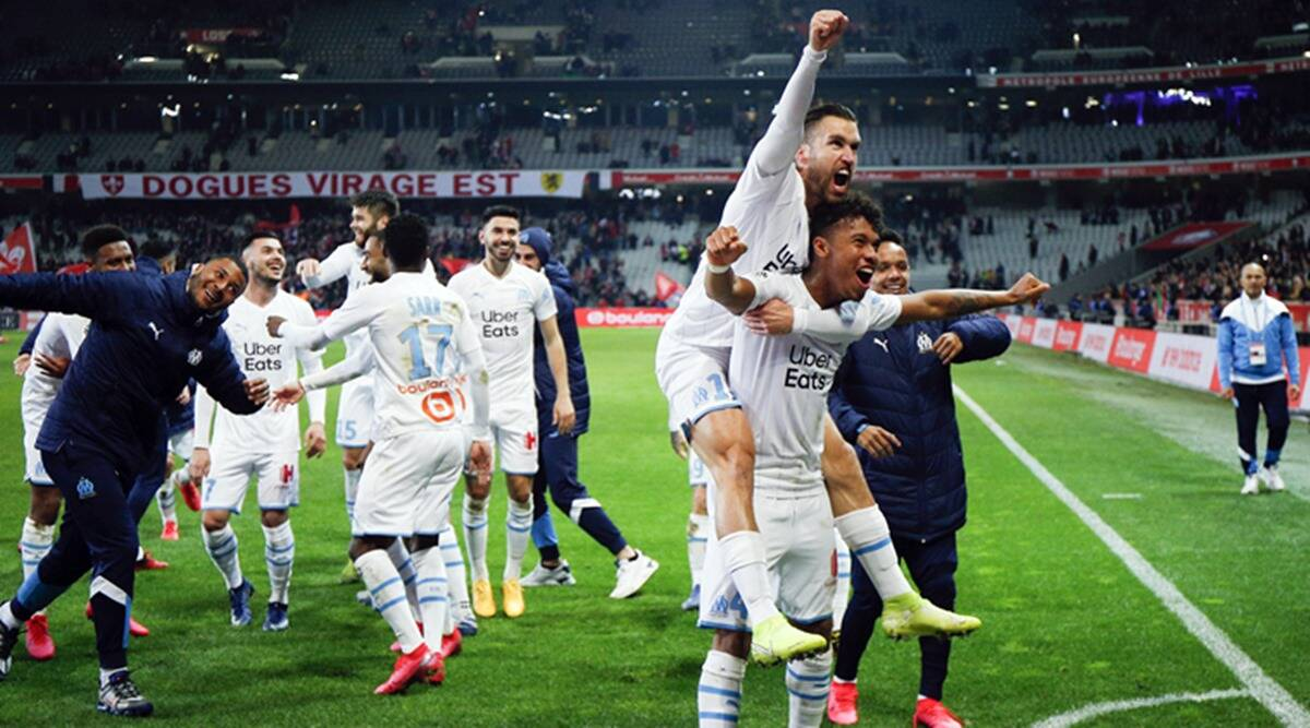 Marseille Closes On Champions League As Rennes Lyon Drop Points Sports News The Indian Express