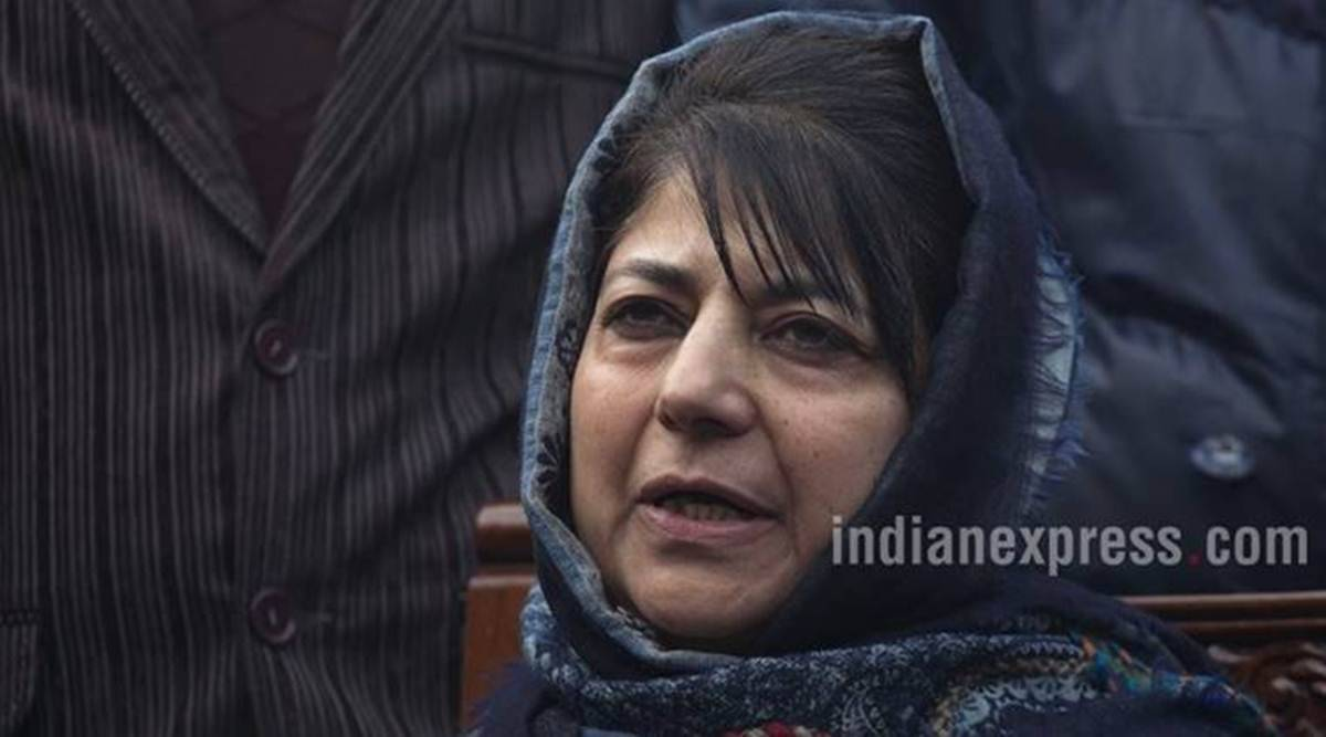 mehbooba mufti, mehbooba mufti detention, jammu and kashmir, j&k article 370, article 370, jammu and kashmir special status, mehbooba mufti PSA, indian express