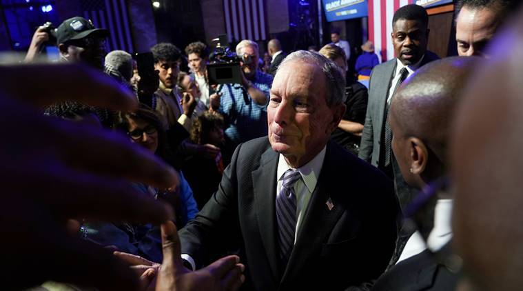 Mike Bloomberg would sell business interests if elected US president