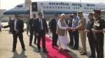 Donald Trump's India visit LIVE: PM Modi lands in Ahmedabad, US President says 'eager to arrive'
