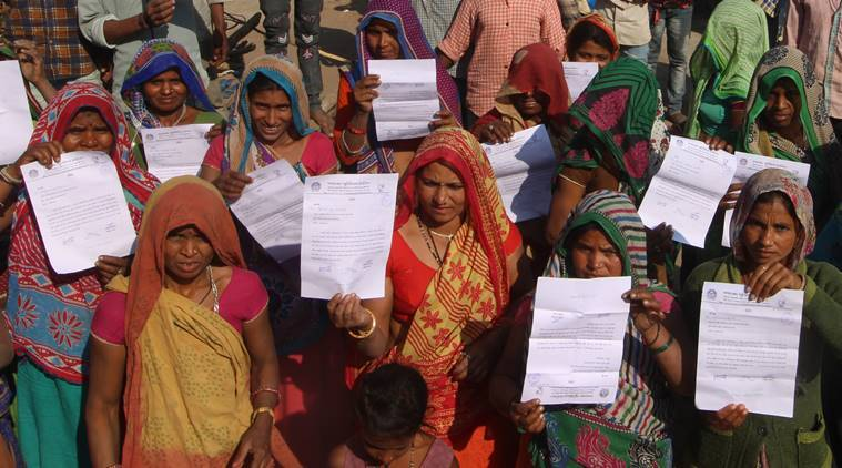 Ahead of Donald Trump visit, 45 families in Gujarat slum served eviction notices