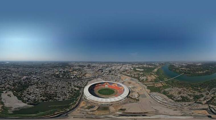 motera stadium, motera stadium inauguration, motera stadium opening date, motera stadium news, motera stadium new look, motera stadium pictures, motera stadium video, motera stadium details