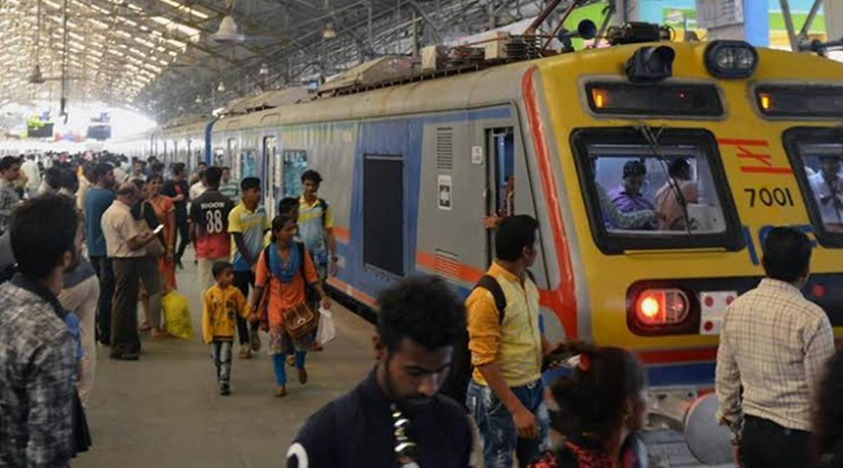 Mumbai AC local trains, AC train on transharbour corridor, Mumbai news, maharashtra news, indian express news