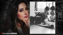 Nargis Fakhri doing muscle building exercises at the gym will inspire you to get fit too