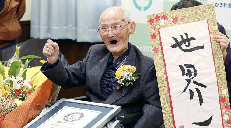 Worlds oldest man who said secret was smiling dies at 112