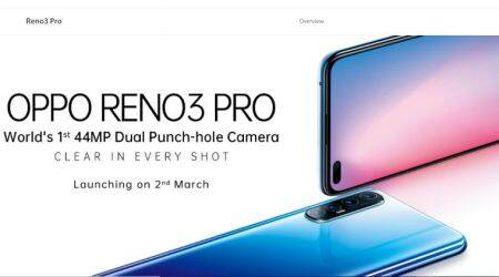 Oppo reno 3 pro india launch live updates