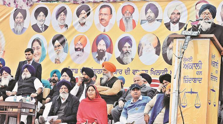 parkash singh badal, sad leader,. gurdwara committee, ex Punjab cm, Punjab news, indian express