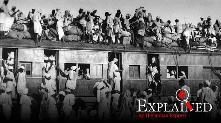 Partition, PM Modi on India pakistan partition, partuon 1947, Jawaharlal Nehru on partition, India pakistan partition, Express Explained