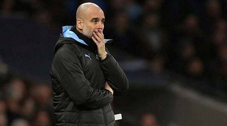 Pep Guardiola, Manchester City, Manchester City Manager,Tottenham Hotspur, Manchester City vs Tottenham Hotspur, Manchester City vs Tottenham Hotspuresult, Premier League, Premier League Lead, Arsenal, Arsenal Champions League qualification, Football, Football news, Sports, Sports news