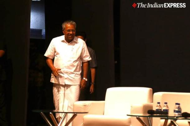 Pinarayi Vijayan, Kerala Chief Minister, Pinarayi Vijayan on CAA, Kerala CAA resolution, CAA resolution Kerala, Aishe Ghosh, JNUSU president, JNU violence, JNU attack, Citizenship Amendment Act, CAA, CAA protests, India news, Indian Express