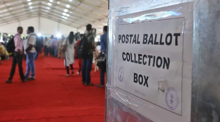 Bihar polls, bIhar elections, Bihar postal ballot, BIHAR VOTERS, Bihar votes, election commission, indian express