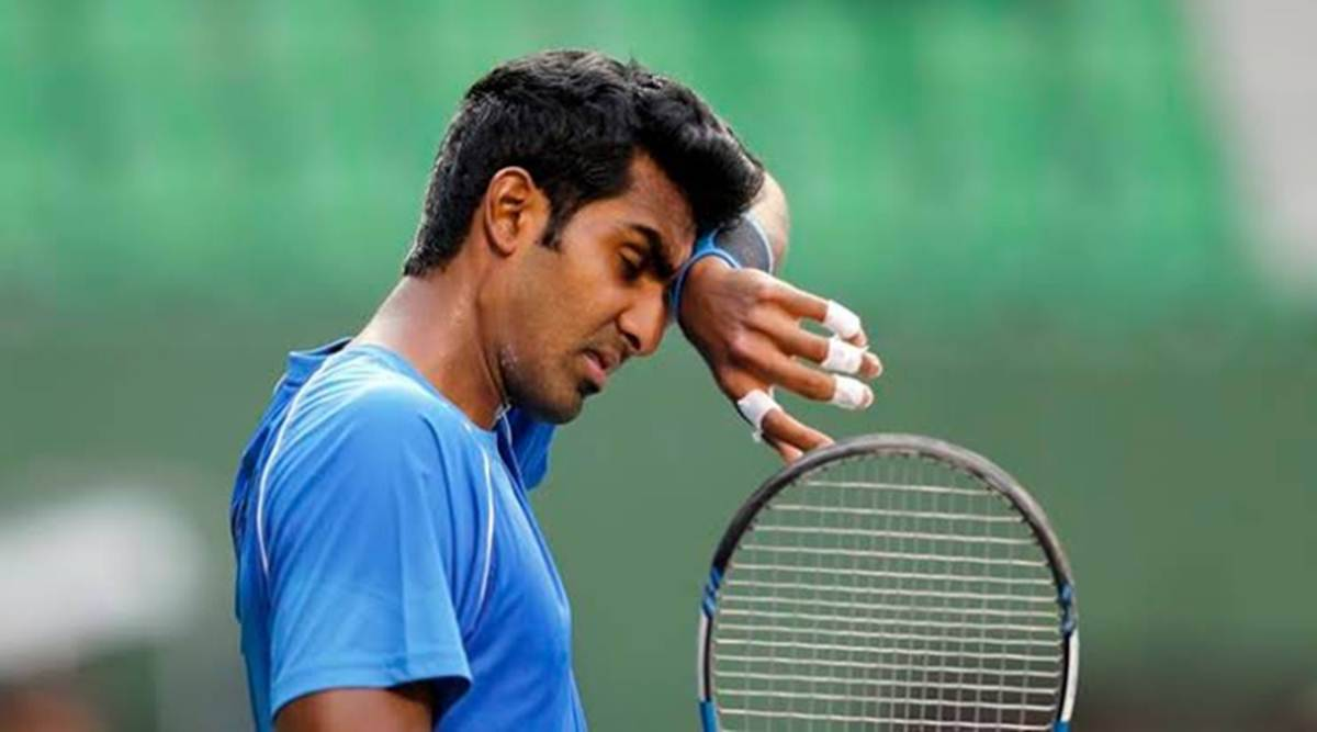 Prajnesh Gunneswaran, Prajnesh Gunneswaran tennis, Prajnesh Gunneswaran ATP ranking, tennis news, indian express