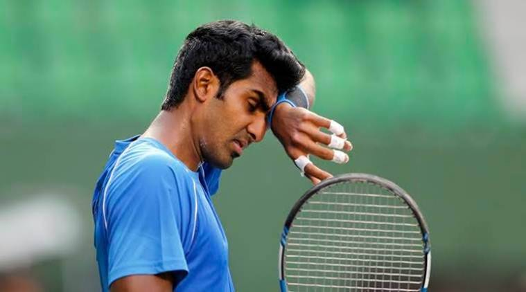 Prajnesh Gunneswaran, Prajnesh Gunneswaran tennis, Prajnesh Gunneswaran ATP ranking, tennis news, indian express