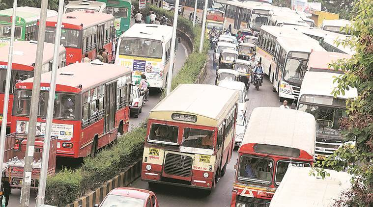 pune city news, pune buses, pmpml buses, pune bus day, pune traffic, pune traffic department