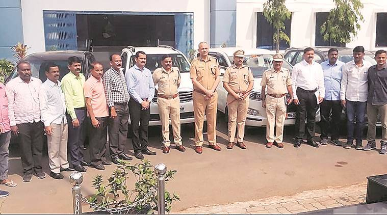 Pune stolen cars seized, pune stolen vehicles, pune vehicle theft, Pune news, maharashtra news, indian express news