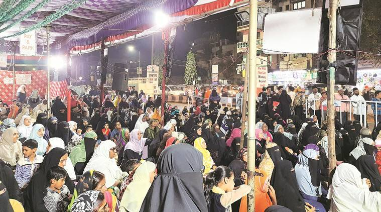 Shaheen Bagh Women Vote In Batches To Keep Agitation Alive