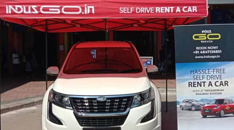 Kerala rent-a-car facility, rest-a-car facility Kerala, rent-a-car facility at Kerala railway stations, Thrissur railway station, Thiruvananthapuram Central railway station, Kerala news, Indian Express