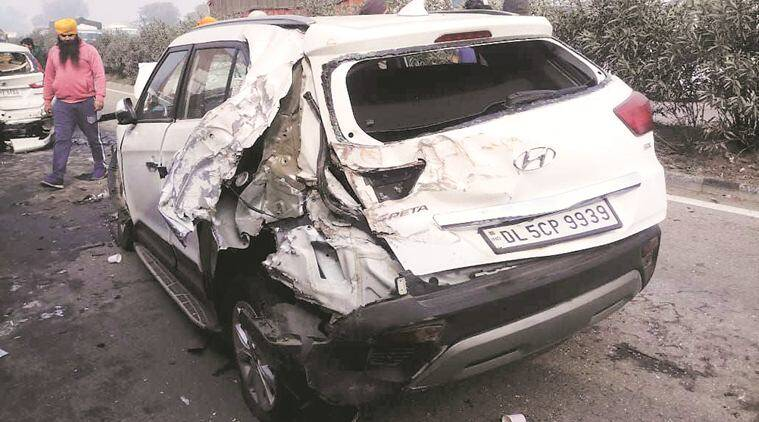 Punjab accidents, Chandigarh accidents, National Highway 1, fog accidents, mohali accident, mohali road accident, chandigarh news, Mohali news, indian express