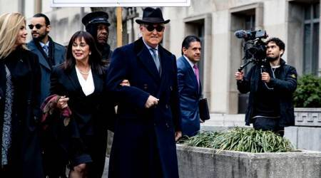 roger stone, roger stone prison, donald trump, trump adviser roger stone, world news, indian express