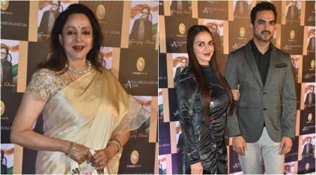 Hema Malini, Esha Deol and others attend Sanjay Khan's book launch