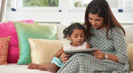 screen time for kids, secondhand screen time