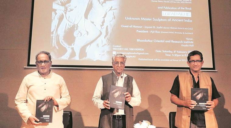 book on sculptures, Lupadakhe — Unknown Master Sculptors of Ancient India, history of Indian sculptures, pune news, maharashtra news, indian express news