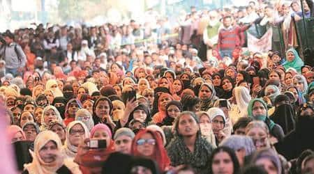 shaheen bagh, shaheen bagh protests, shaheen bagh coronavirus, shaheen bagh coronavirus protests, new delhi shaheen bagh protests, caa protests, citizenship amendment act protests, indian express
