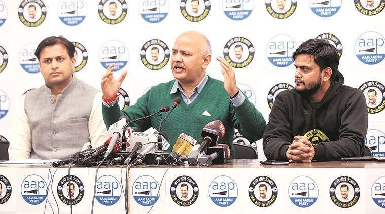 Manish Sisodia on Budget, union budget 2020, delhi elections, delhi news, indian express news