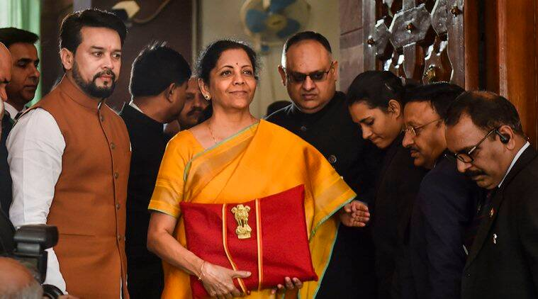 Budget 2020, Nirmala Sitharaman 2020 Budget, Budget Nirmala Sitharaman interview, Tax rate slabs Budget 2020, Indian Economic slowdown, Nirmala Sithraman Indian Economy, GDP growth rate Budget Economic survey, Business news indian express