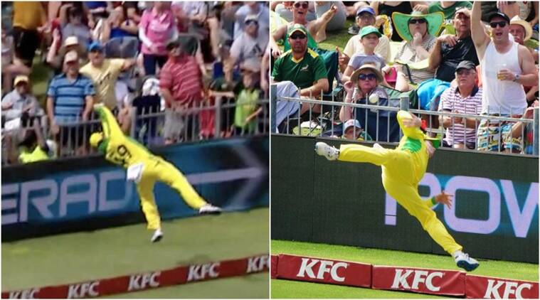WATCH: Steve Smith's extra-terrestrial save converts 6 into a single