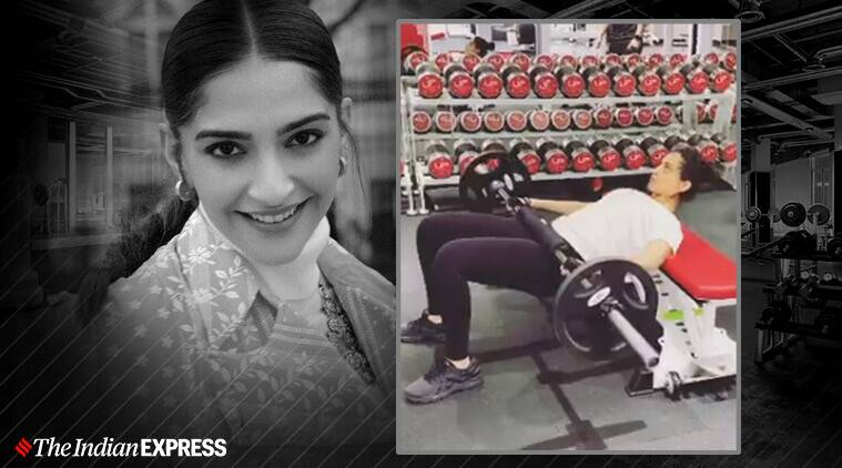 sonam kapoor, workout, fitness