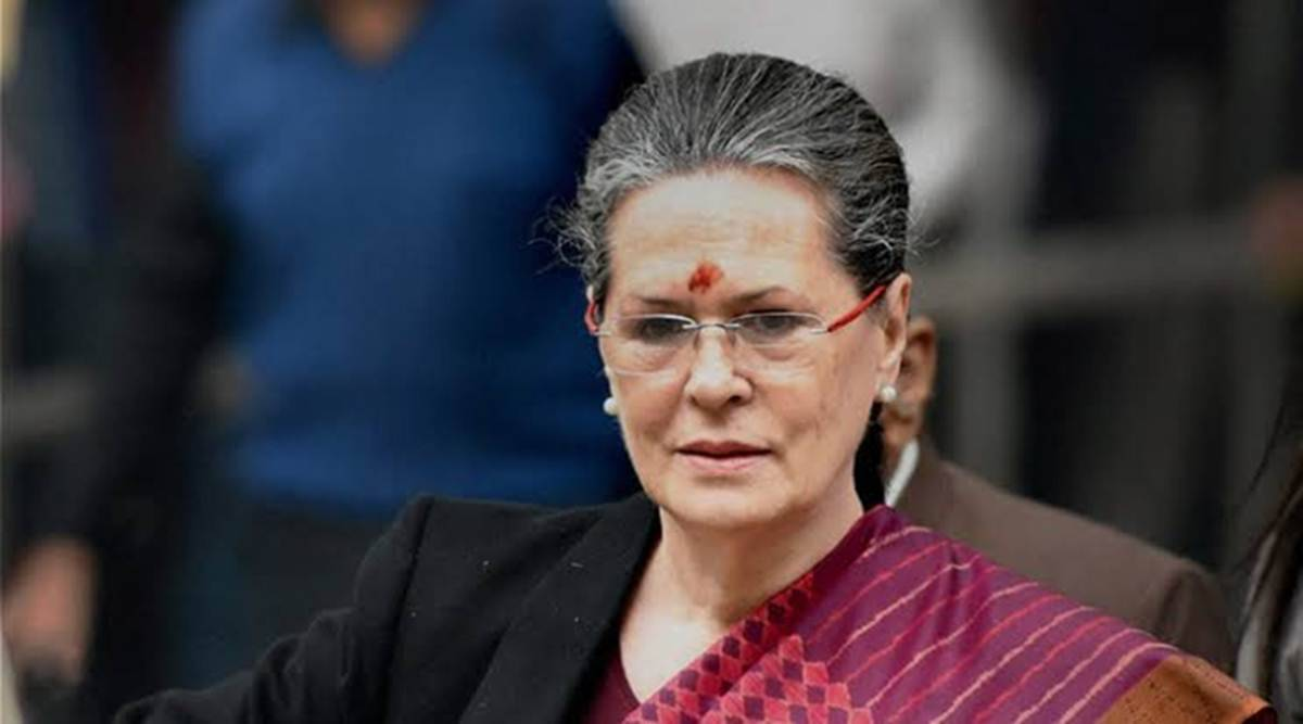 First time such an arrogant govt in power that cannot see sufferings of farmers: Sonia Gandhi - The Indian Express