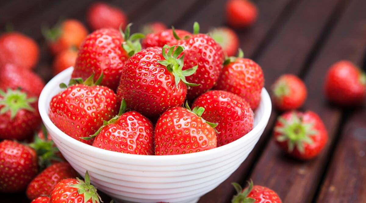 As sweet as it gets: Here's why you should add strawberries to your beauty  regimen | Lifestyle News,The Indian Express