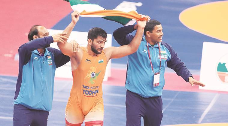 sunil kumar, sunil kumar gold medal, greeco roman wrestling, asian championships, sports news