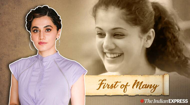 First of Many : Taapsee Pannu revisits Aadukalam | Entertainment News , The Indian Express