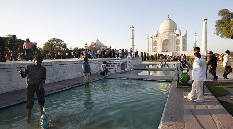 Trump visit: Areas near Taj Mahal get facelift but will it be maintained, ask locals