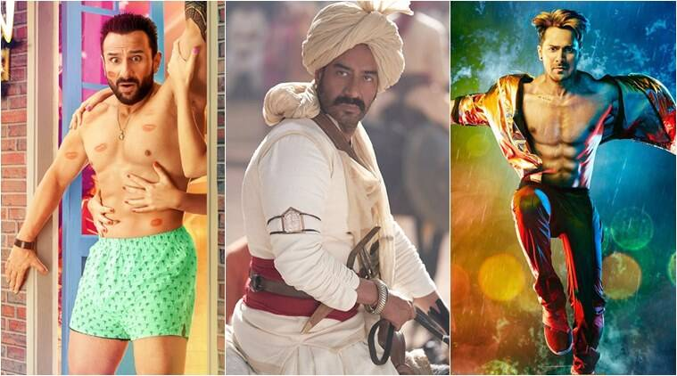 tanhaji jawaani jaaneman street dancer box office ollection