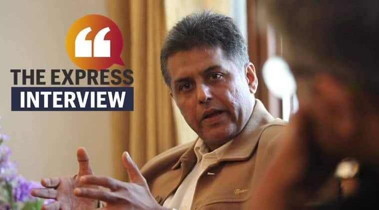 Manish Tewari interview on congress
