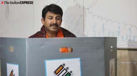 Sixth sense tells me BJP will form govt in Delhi: Manoj Tiwari